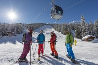 Tristan shu ski grand massif college lycee hiver le berouze